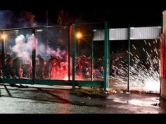 RIOTS: Saint Etienne - AS Monaco (15.12.2017) ASSE fans clashed with police! - YouTube