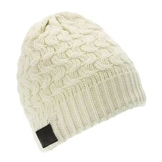 Combining a stylish, warm beanie with headphones that can be connected wirelessly to your iPod, smartphone or MP3 player, the KitSoundAudio beanie brings fashion, practicality and music together.