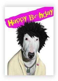 dog punk birthday