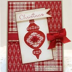 christmas cards stampin up idea | Christmas card | Stampin Up Ideas