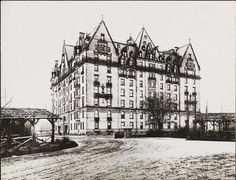 Dakota Apartments in c.1895. Central Park West and 72nd street Constructed c.1880-1884