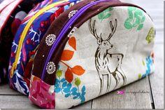 scrapjulchen: ROT, pattern by farbenmix.de #taschenspieler #patterns #sewing #farbenmix
