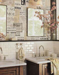 Manualidades Mural Cartas Pared   Buscar Con Google · Wallpaper PasteToiletsPaint  ...