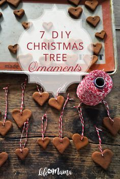 A small DIY can also really cut down on the spending that we do during the holiday season. If you are looking for some DIY ornament inspiration, look no further. Here are 7 adorable Christmas tree ornaments you can make at home.