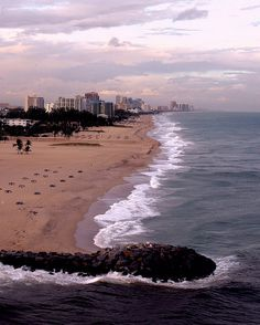 Fort Lauderdale Beach and South Florida's eastern coastline