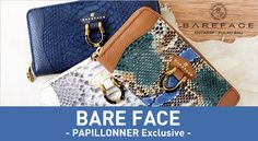 PAPILLONNER PICK UP | 2016 Spring Summer BAREFACE - PAPILLONNER Exclusive -