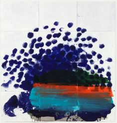 When only the best will do, 2012 by Howard Hodgkin