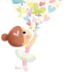 Illustration Kawaii, Art Mignon, Rock Crafts, Cute Little Girls, Cute Characters, Kawaii Cute, Drawing For Kids, Disney Art, Easy Drawings