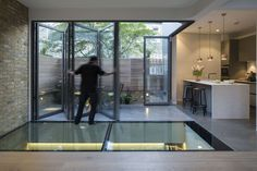 """Brackenbury House"" - 133 Dalling Road, London, United Kingdom by Neil Dusheiko Architects and Hoktiff Limited (http://www.homesandproperty.co.uk/luxury/interiors/design/how-this-couple-created-a-light-and-bright-home-thats-full-of-surprises-48056.html)"