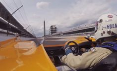 Onboard lap of Indianapolis with the McLaren M8F
