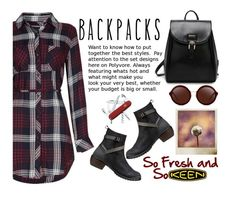 """""""So Fresh and So Keen: Contest Entry"""" by juliehalloran ❤ liked on Polyvore featuring Keen Footwear, 3.1 Phillip Lim, Victorinox Swiss Army, Polaroid and keen"""
