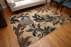 New City Contemporary Brown Beige Modern Flowers Wool Area Rug 4029 5'2 x 7'3 Feraghan/New City http://www.amazon.com/dp/B00WTS7I06/ref=cm_sw_r_pi_dp_So3yvb1A7J6E4