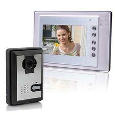 Inch Video Door Phone Doorbell Intercom Kit Night Vision Ir Camera