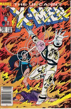 Uncanny XMen 1963 1st Series 184 August 1984 Issue by ViewObscura, $5.00