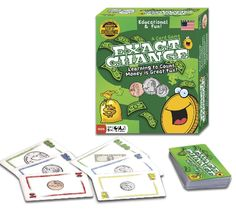 A card game to work on making change and recognizing coin denominations. Check out my blog for more information.