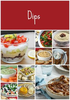 Dips for NYE or Game time!