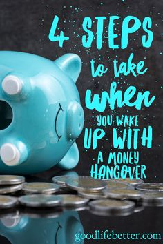 When you reach that point where you are ready to change and no longer deal with money hangovers, here are 4 tips that can help you move forward. via @goodlifebetter