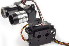 Drone Design Ideas : LIDAR-Lite Laser Rangefinder Simple Arduino Sketch of a 180 Degree Radar R Robotics Projects, Arduino Projects, Electronics Gadgets, Electronics Projects, Hobby Electronics, Electronics Storage, Laser Arduino, Drones, Drone Quadcopter