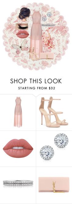 """""""Untitled #583"""" by jujuxx33 ❤ liked on Polyvore featuring Lime Crime, Kobelli, Mark Broumand and Yves Saint Laurent"""