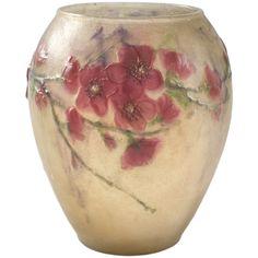 Argy-Rousseau French Art Deco Pâte de verre Vase