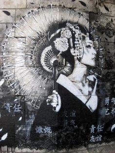 grownnotmanufactured: Chinese Woman  Olha q lindo! Iêda Falcão e Diego Barata.
