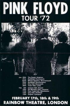 Pink Floyd in Southampton.