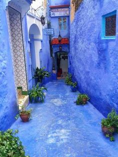 Wonderful Places: <b>Chefchaouen</b>, the blue city of Morocco (North Africa) Beautiful World, Beautiful Places, Wonderful Places, Romantic Places, Beautiful Scenery, Places To Travel, Places To See, Morocco Chefchaouen, Medina Morocco