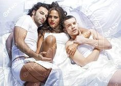 Aidan Turner w Lenora Crichlow and Russell Tovey - Being Human UK S 1-3