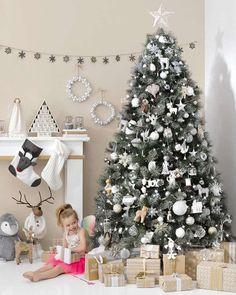 décoration de style nordique pour sapin de Noël