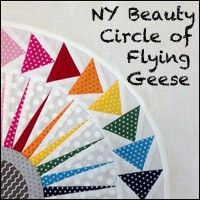 NY Beauty Circle of Flying Geese - on my quilty bucket list once I learn to paper piece.