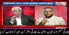 Asaduddin Owaisi Made Anchor Karan Thapar Speechless After Called Muslims Are 'Arrant Nonsense'