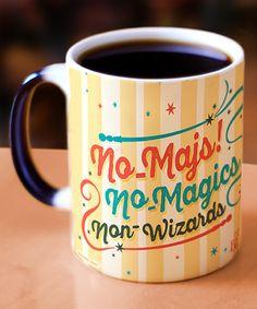 Loving this Fantastic Beasts Morphing Mugs™ No Maj Personalized Mug on #zulily! #zulilyfinds