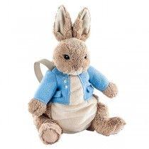 50a6624e102 Beatrix Potter Plush Peter Rabbit Plush and Backpack