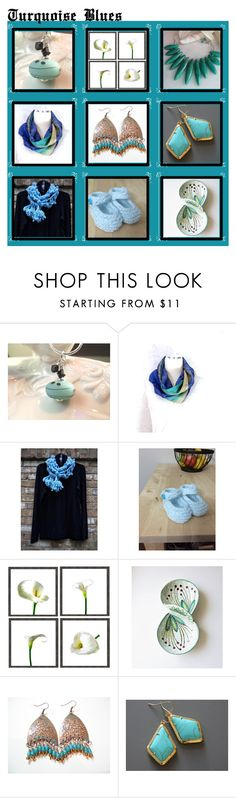 """""""Turquoise Blues"""" by inspiredbyten on Polyvore"""