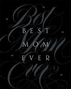 Items similar to Mother's Day Gift for Mom Quote Print Best Mom Ever Modern Typography Art Home Decor Pale Black Gray on Etsy Modern Typography, Typography Art, Mother Quotes, Mom Quotes, Mother Day Gifts, Gifts For Mom, Best Quotes Ever, You Are Amazing, Quote Prints