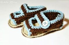 Ravelry: Summer Baby Sandals pattern by Ashlee Prisbrey Crochet Summer Hats, Crochet Bebe, Crochet For Boys, Hat Crochet, Crochet Baby Sandals, Crochet Shoes, Crochet Slippers, Crochet Flower Tutorial, Summer Baby