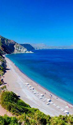 Firi Ammos beach, Kythera Island, Greece