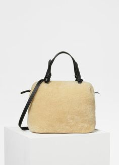 2d1565121758 Small Soft Cube Bag in Shearling - Céline Cubes