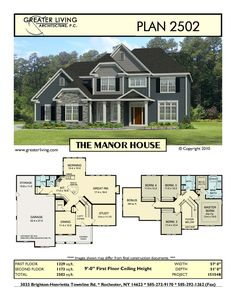Plan 2502  THE MANOR HOUSEoutside house parts names     drawing below shows the parts of  . Names Of Exterior House Trim Parts. Home Design Ideas