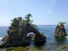 Rochers mariés de Hatago-Iwa dans la péninsule de Noto