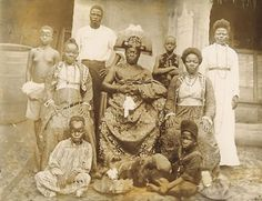Ovonramwen Nogbaisi (ruled 1888–1897), also called Overami, was the Oba (king) of the Kingdom of Benin up until the British punitive expedition of 1897. In February of 1897 the British launched a full-scale attack on Benin City which fell after eight days of fierce fighting. The Kingdom of Benin was totally destroyed, many inhabitants killed, the city looted and many valuable artifacts taken as trophies.