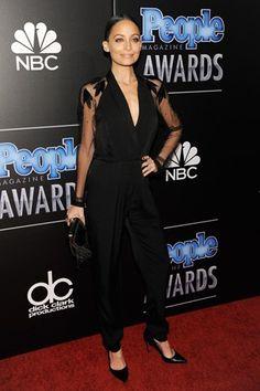 Best Dressed - Nicole Richie in a black jumpsuit
