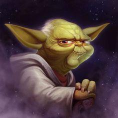 ArtStation - Yoda FanArt, Nest Strix