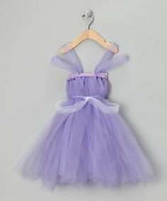 Take a look at this Purple Sofia Dress - Infant, Toddler & Girls by All the Little Things on #zulily today!
