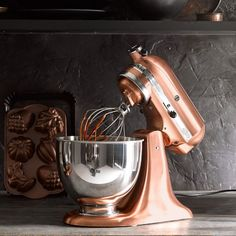 KitchenAid® Metallic Series 5-Qt. Stand Mixer #williamssonoma