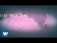 "Jesse & Joy - ""Que Pena Me Da"" (Video con Letra) - YouTube"