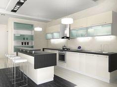 Ultra Modern White Kitchen #JennyKnowsGreenvilleSCRealEstate #JennyRogersTesner   #GreenvilleSC