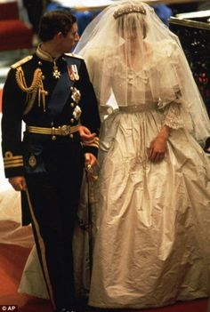 The marriage of Lady Diana Spencer to Prince Charles in the 1980′s marked the resurgence of the big, fluffy princess-style gown. Description from pinterest.com. I searched for this on bing.com/images