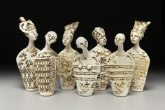 Contemporary ceramic sculpture by artist Jenny Mastin