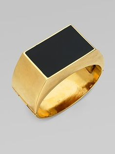 Stella McCartney  Enamel Accented Bangle Bracelet  Saks